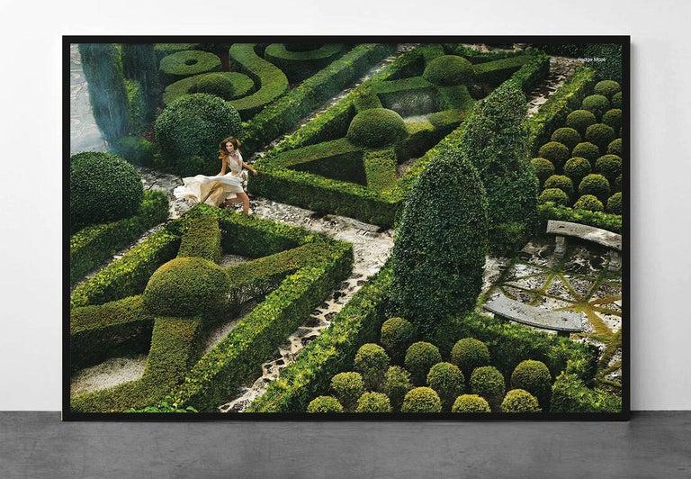Hedge Maze - Photograph by Greg Lotus