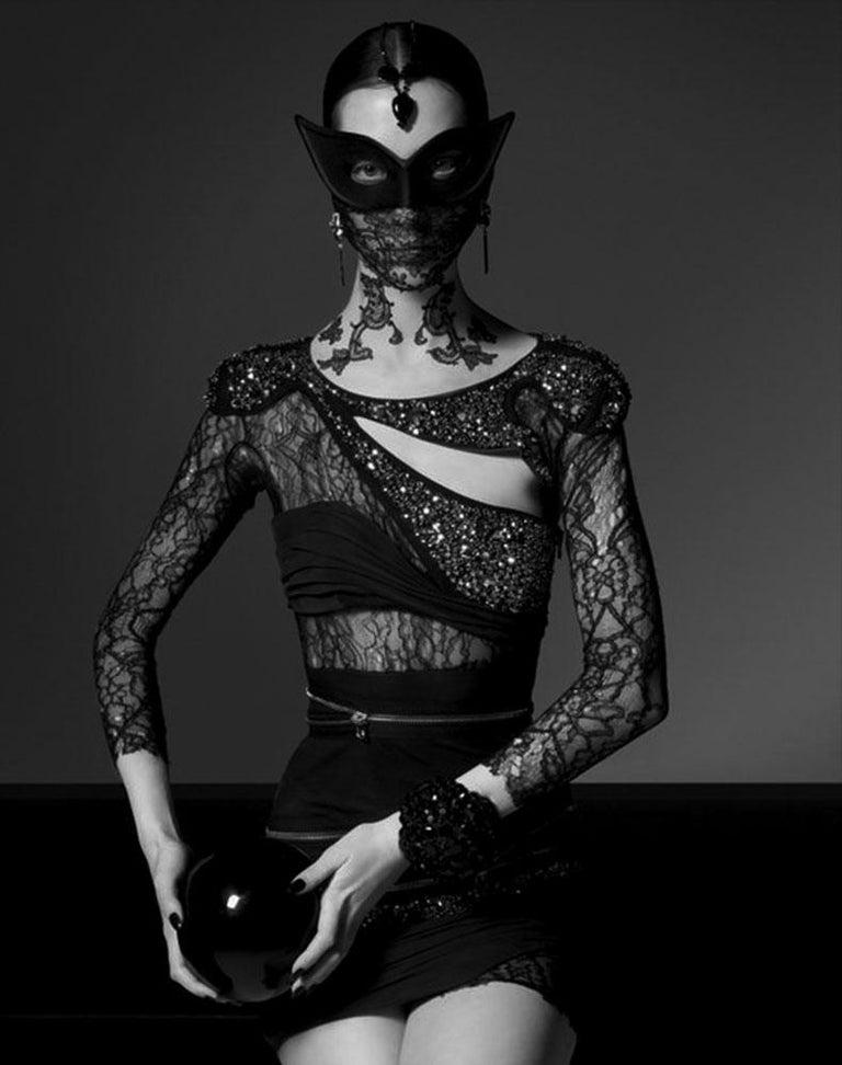 Greg Lotus Color Photograph - Mask