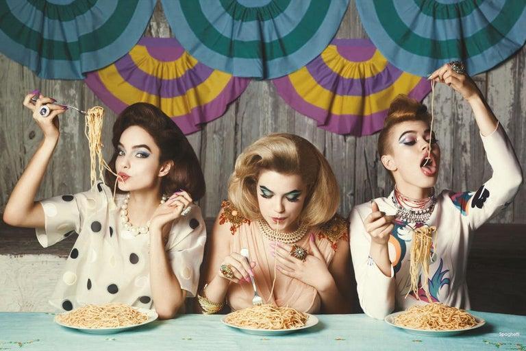 Greg Lotus Figurative Photograph - Spaghetti