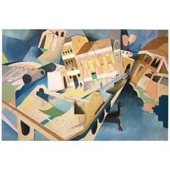 Greg Mathias Original Painting, Venice, Italy