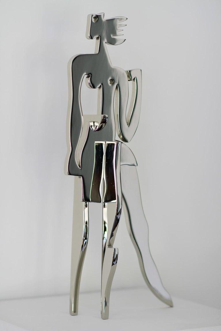 American Greg Mathias Original Sculpture, La Parisienne For Sale