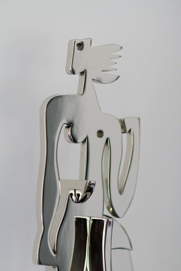 Contemporary Greg Mathias Original Sculpture, La Parisienne For Sale