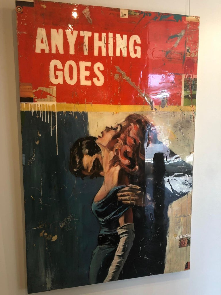 Anything Goes, Greg Miller (Figurative Collage, Text) 3
