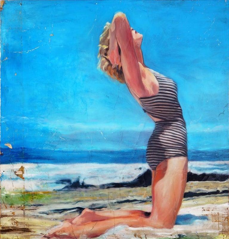 Avila Beach - Mixed Media Art by Greg Miller