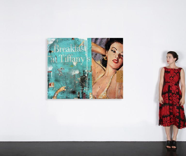 Breakfast at Tiffany's - Other Art Style Mixed Media Art by Greg Miller