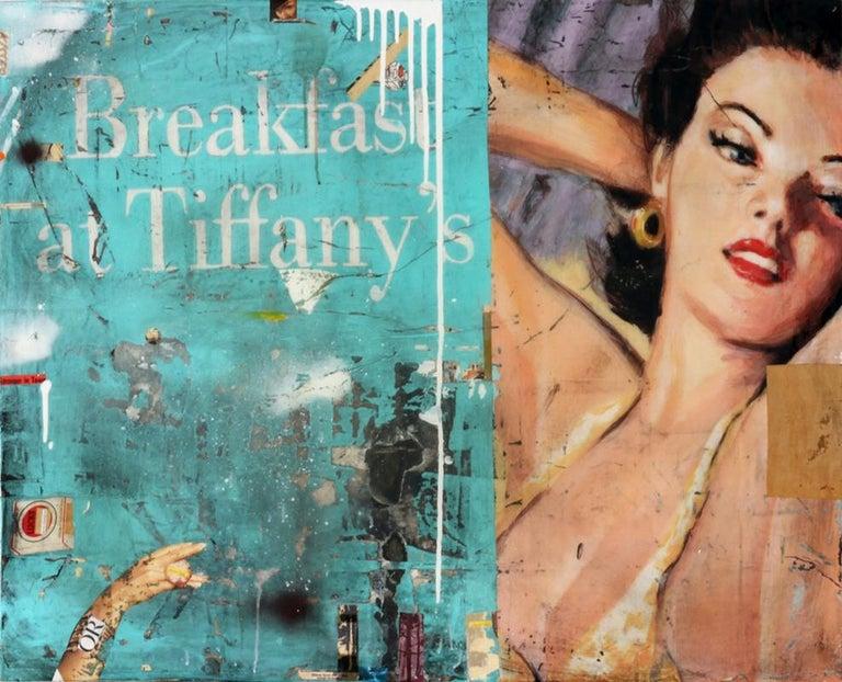 Breakfast at Tiffany's - Mixed Media Art by Greg Miller