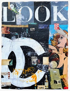 Or_Greg Miller, 2021, Acrylic/Collage/Paper (Text, Pop Art)