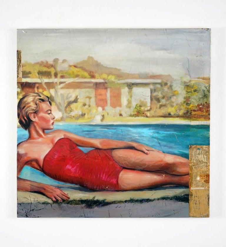 Sierra Oaks - Other Art Style Mixed Media Art by Greg Miller