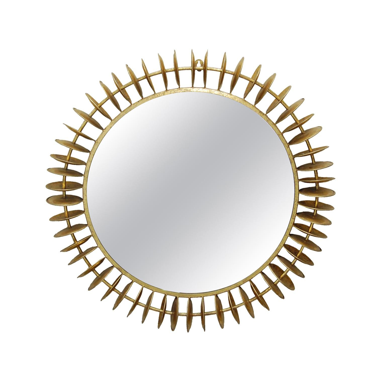 Greg Mirror in Gold Leaf by CuratedKravet