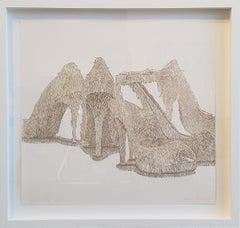 """""""Heel"""" Print by Contemporary Artist Greg Murr"""