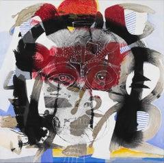 König der Kelche, 21st century, modern, abstract, colourful