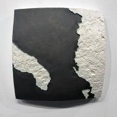 """Choke II: Otranto Strait (Italy, Albania & Greece)"" - ceramic - map - Nevelson"