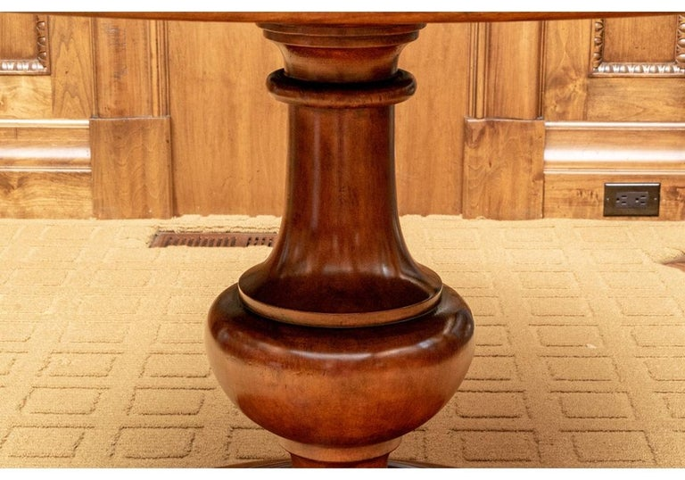 Gregorius Pineo for Holly Hunt Pedestal Table 1