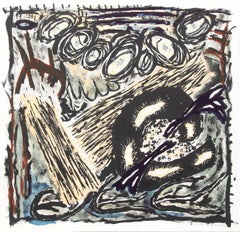 Final Hours, Abstract Lithograph by Gregory Amenoff