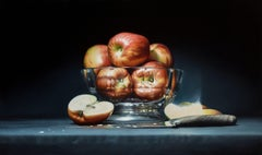 """Apples"" Oil Painting"
