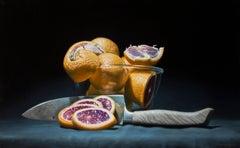 """Blood Oranges"" Oil Painting"
