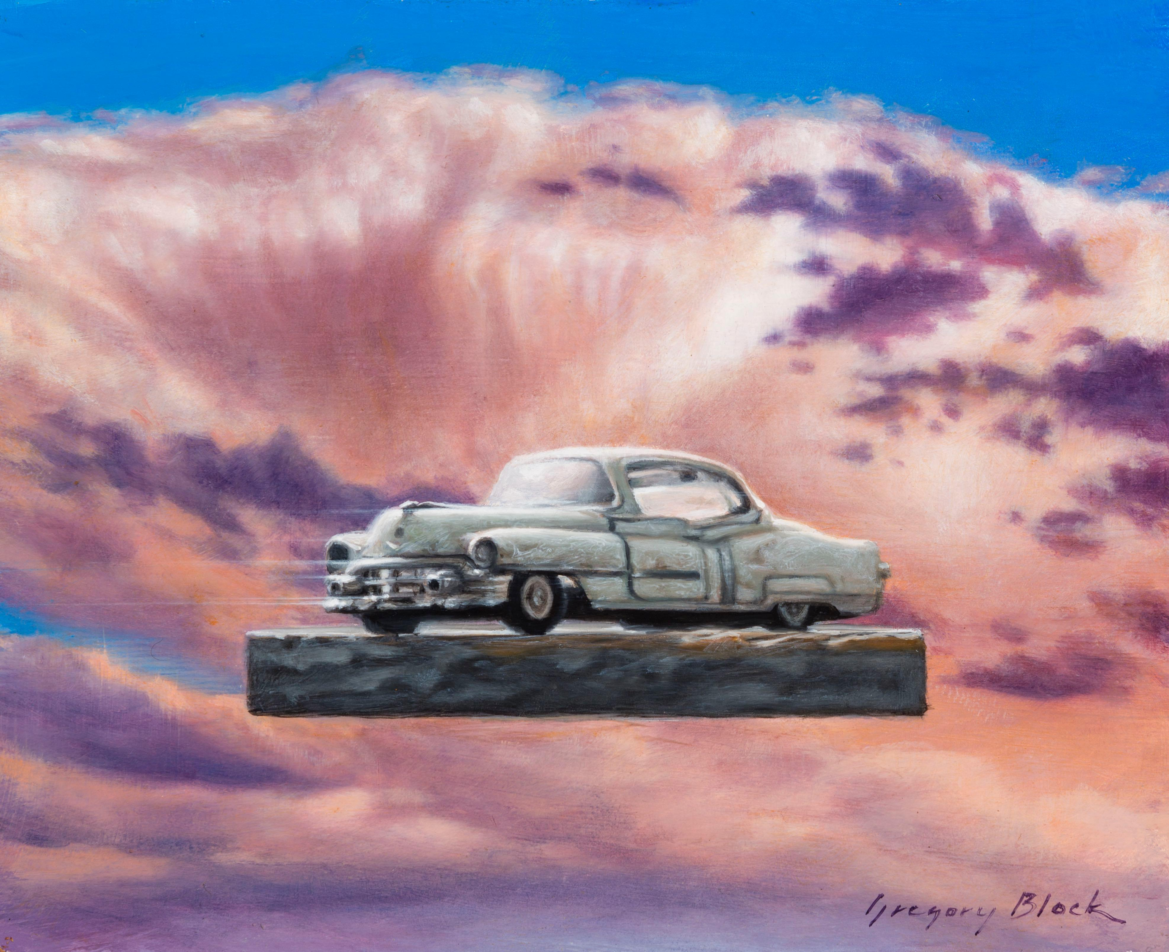 """""""Caddy"""" Oil Painting"""