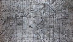 """Metro Denver,"" Mixed Media Painting"