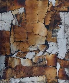 """Multiverse I,"" Mixed Media Painting"