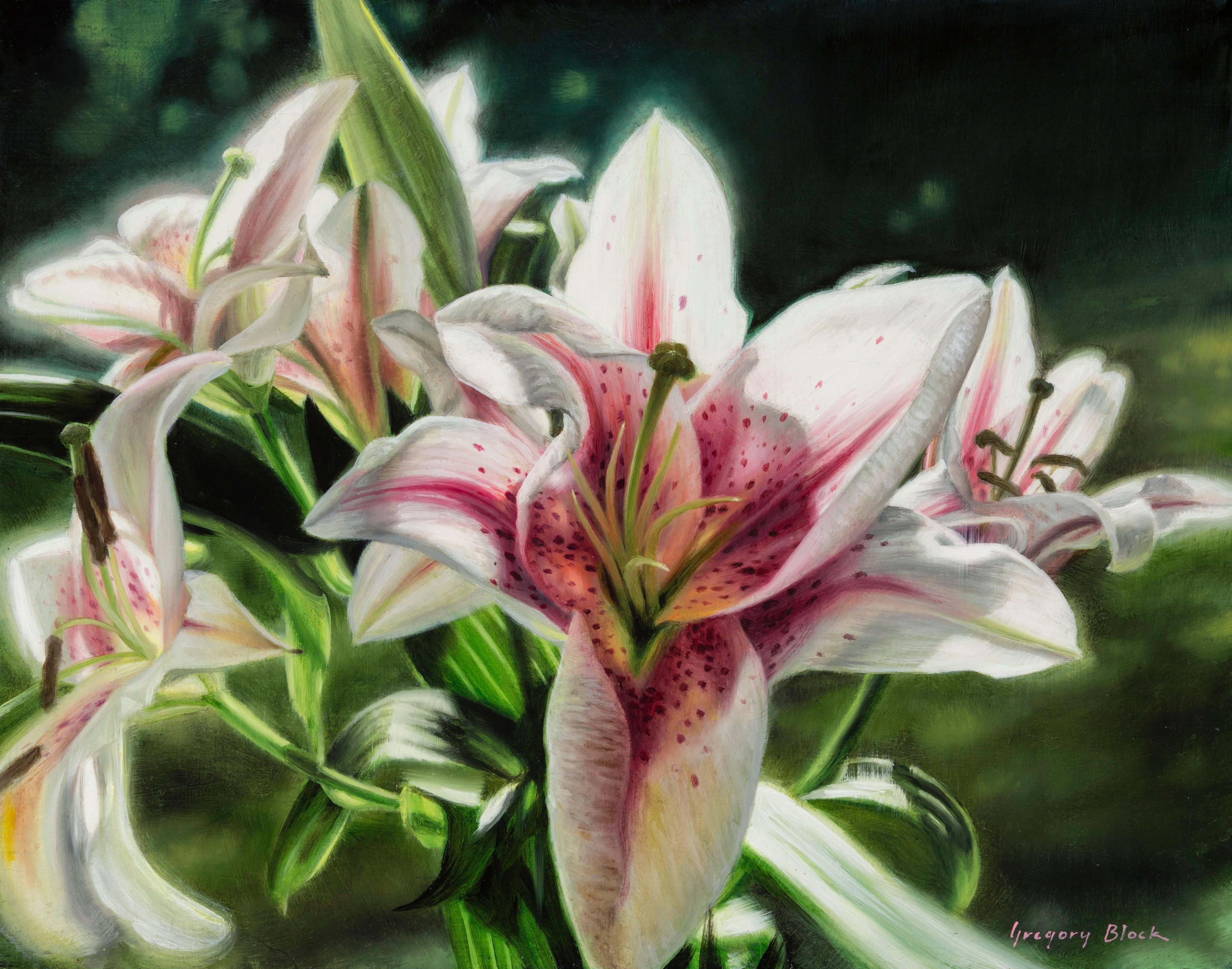 """""""Stargazer"""", Oil Painting"""