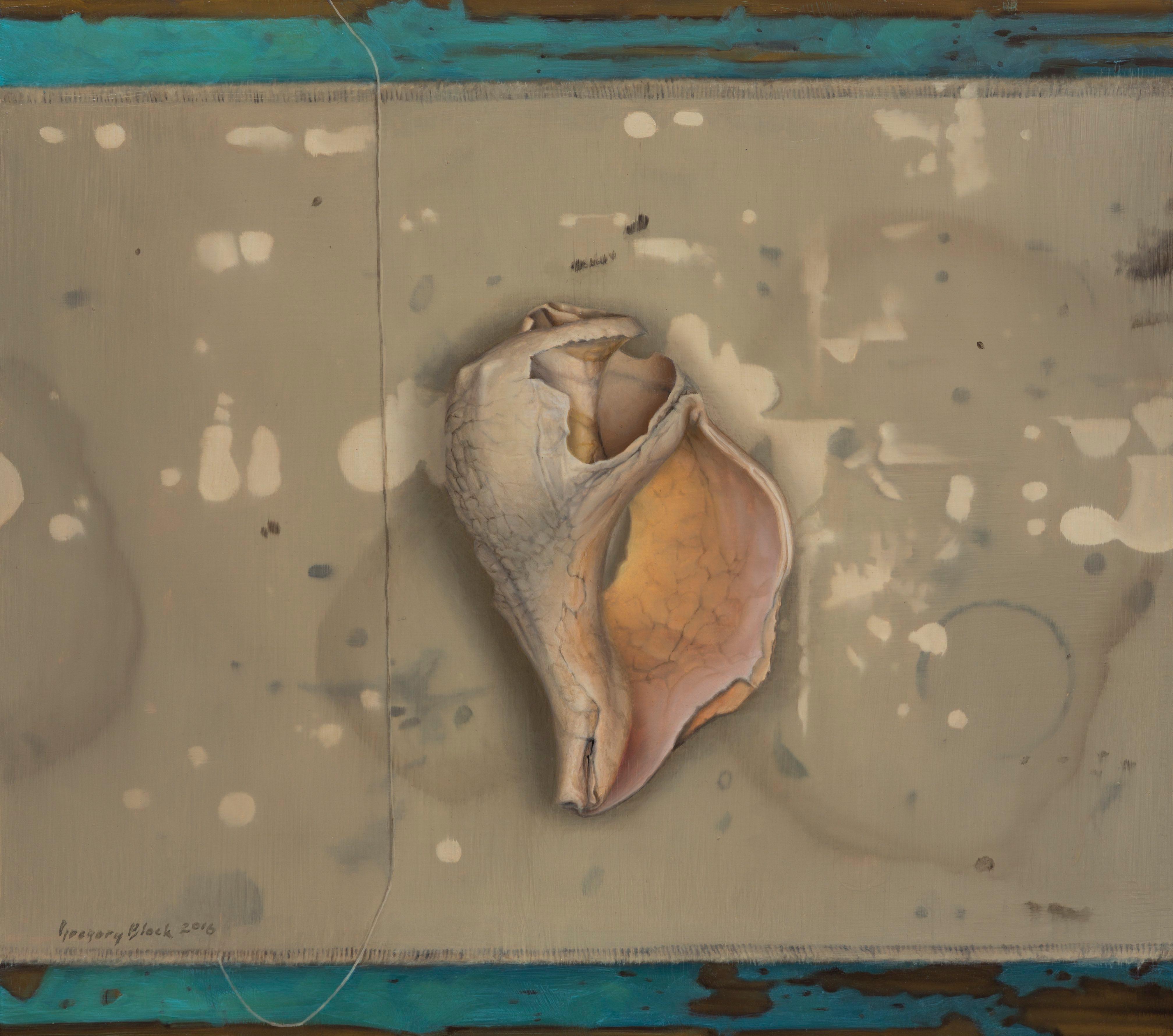 """""""Whelk,"""" Oil Painting"""