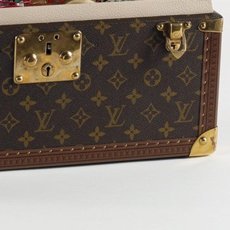 Louis Vuitton, Mock Vanity Case Bomb - Gray Still-Life Sculpture by Gregory Green