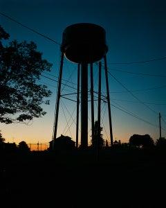 Water Tower, Sunset, Omaha, NE, 2005-2018 - Gregory Halpern