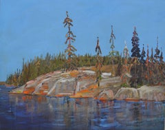 Rocks and Trees, Late August