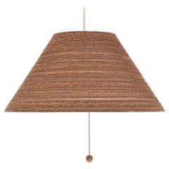 Gregory Van Pelt Corragated Cardboard Hanging Light