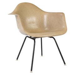 Greige Herman Miller Eames LAX Lounge Arm Shell Chair