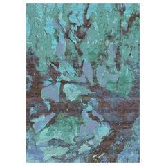 Grenada Hand Knotted Wool and Bamboo Silk Bespoke Carpet by Malene Barnett