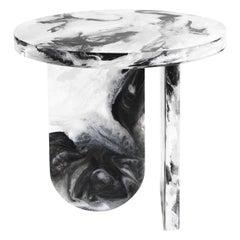 Grenada.2 Side Table in Plexiglass by Roberto Cavalli