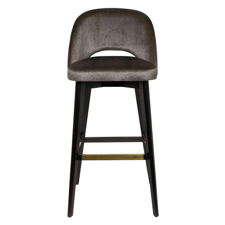 Greta Bar or Counter Stool In New Condition For Sale In Westport, CT