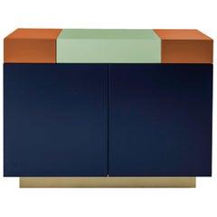 Greta Bedside Cabinet Sophisticated Lacquered Woodwork Handmade Details