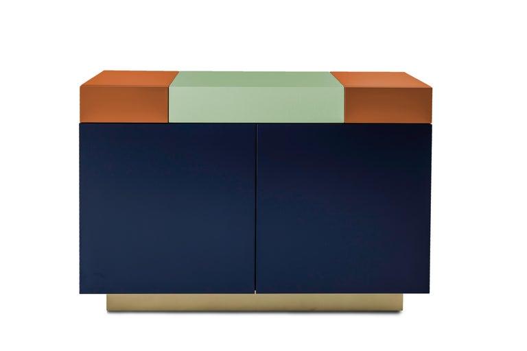 Brazilian Greta Cabinet by Leonardo Di Caprio for Aucap For Sale