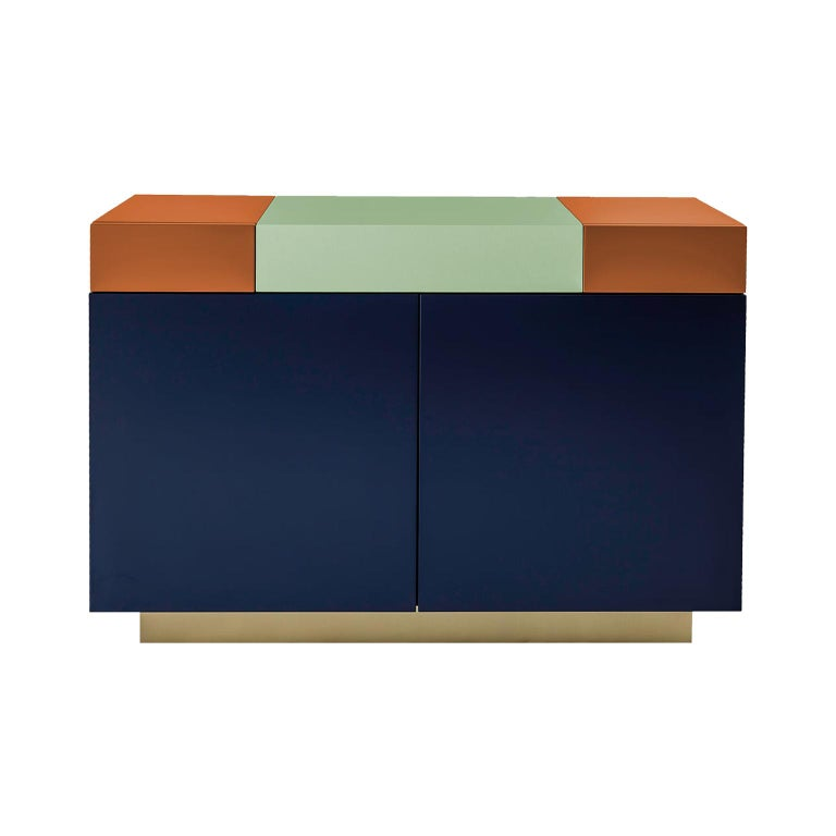 Greta credenza  Sophisticated Lacquered Furniture  Handmade Details   120 For Sale