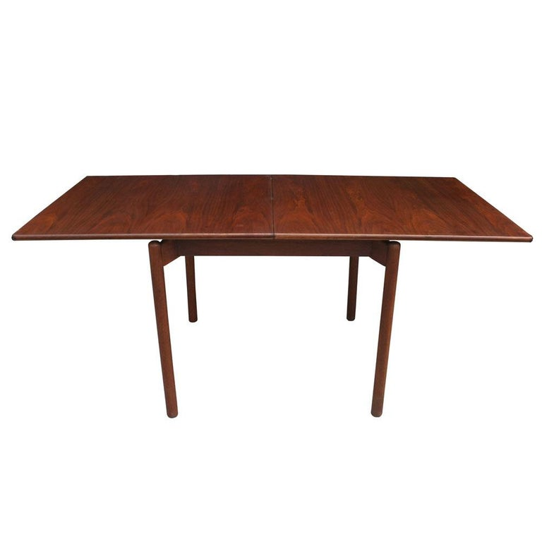 Greta Grossman Midcentury Teak Expandable Dining Table and Chairs In Good Condition For Sale In Pasadena, TX