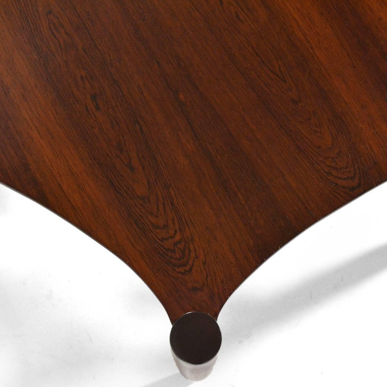 Mid-Century Modern Greta Grossman Rosewood Coffee Table For Sale
