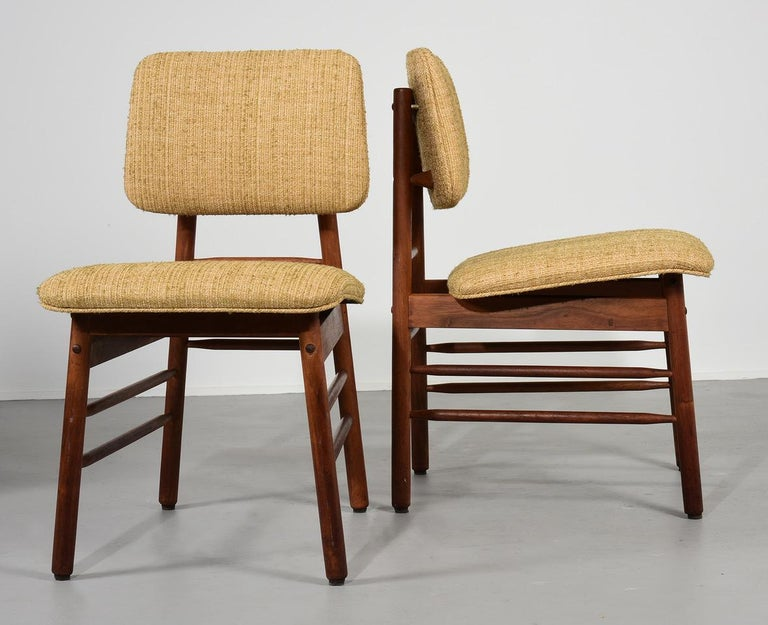 Greta Grossman Set of Four Chairs, Model 6260, circa 1952 For Sale 2
