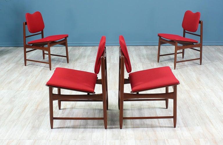 Mid-Century Modern Greta M. Grossman Dining Chairs for Glenn of California For Sale