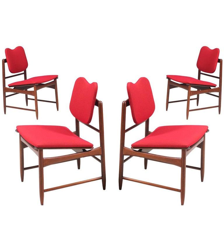 Greta M. Grossman Dining Chairs for Glenn of California For Sale