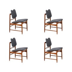 Greta M. Grossman Sculpted Dining Chairs for Glenn of California