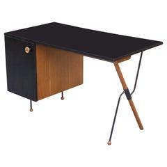 Greta Magnusson-Grossman for Glenn of California Desk, Restored, 1950s, Signed