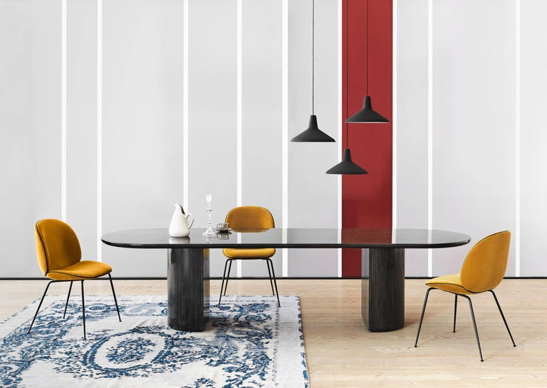 Scandinavian Modern Greta Magnusson Grossman 'G-10' Pendant Lamp in Black For Sale