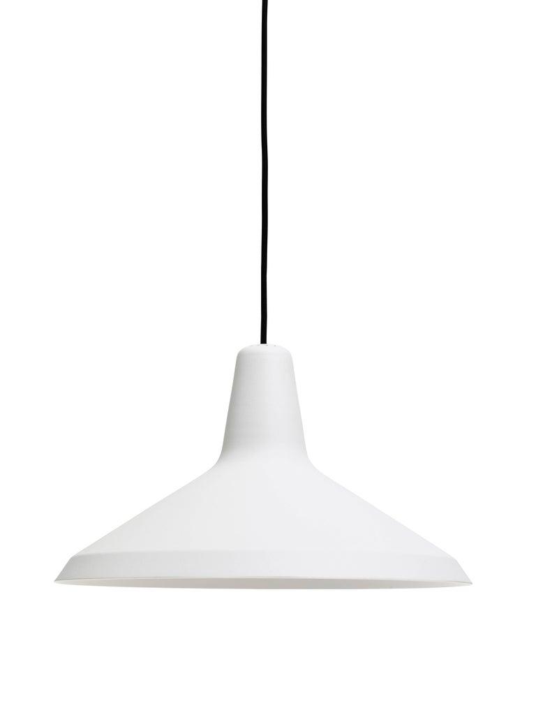 Danish Greta Magnusson Grossman 'G-10' Pendant Lamp in Black For Sale