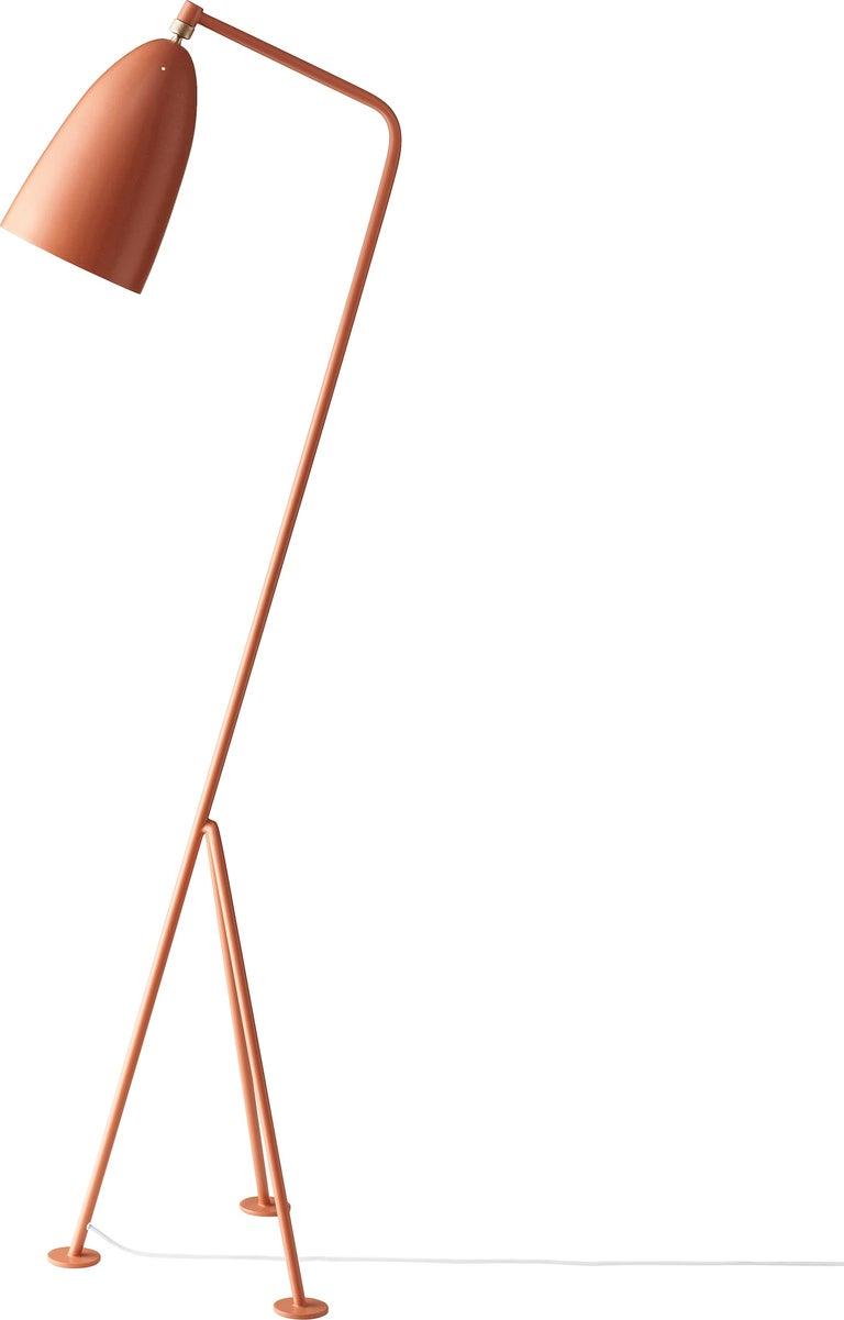 Greta Magnusson Grossman 'Grasshopper' Floor Lamp in Black For Sale 2