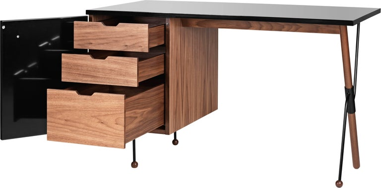 Greta Magnusson Grossman Series 62 Desk For Sale 3