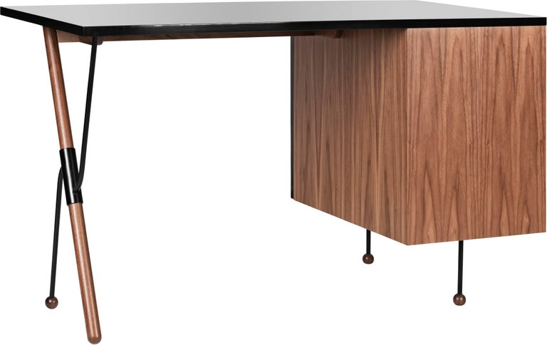 Danish Greta Magnusson Grossman Series 62 Desk For Sale