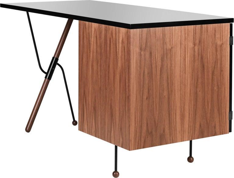 Powder-Coated Greta Magnusson Grossman Series 62 Desk For Sale