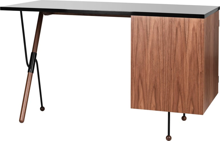 Greta Magnusson Grossman Series 62 Desk In New Condition For Sale In Glendale, CA